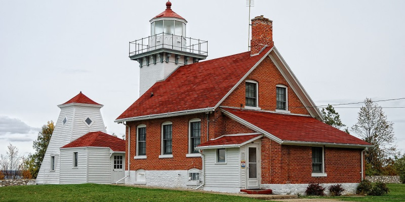 Sherwood Point Lighthouse Travel Wisconsin